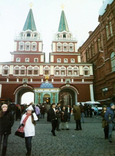Парадный вход на Красную площадь, достопримечательности Москвы