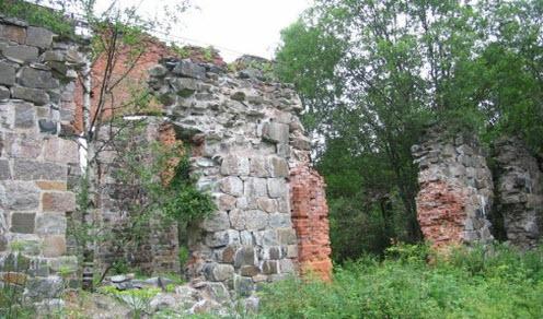Руины чугунного завода колатсельга, трасса Р21