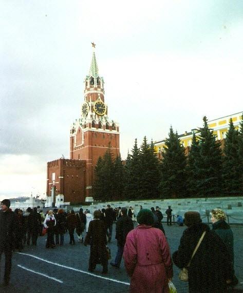 Спасская башня, достопримечательности Москвы