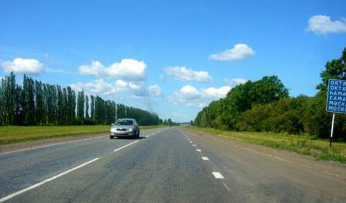 Трасса М5, как доехать до абхазии