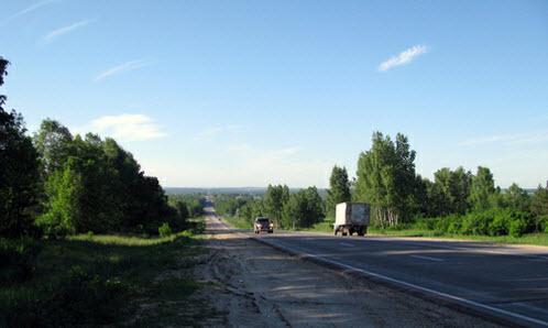 Трасса Р158, дорога Р158 в Нижегородской области