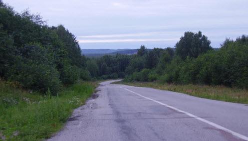 Трасса Р21, дорога Р21 возле трассы М18