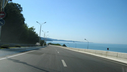 Трасса м27, как доехать до Абхазии, дорога М27