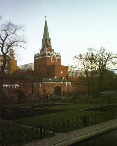 Троицкая башня, достопримечательности Москвы