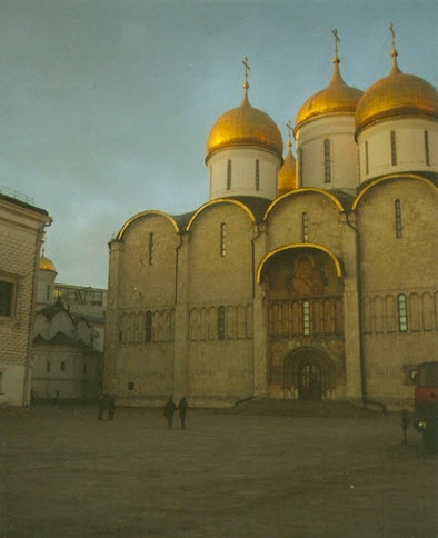 Успенский Собор, достопримечательности Москвы