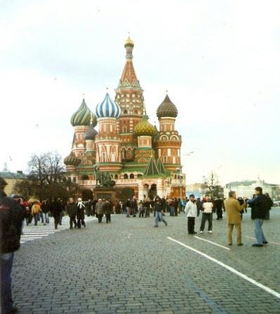 Храм Василия Блаженного, достопримечательности Москвы
