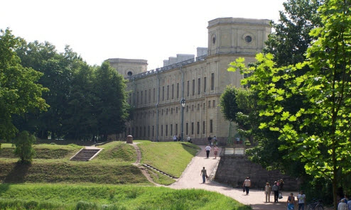 достопримечательности трассы М20, дворец в гатчино