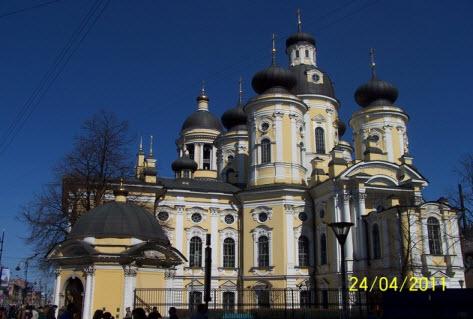 Владимирский собор, достопримечательности Петербурга