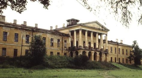 Дворец в Ропше, достопримечательности трассы М11