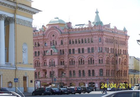 Дом Басина, достопримечательности Петербурга