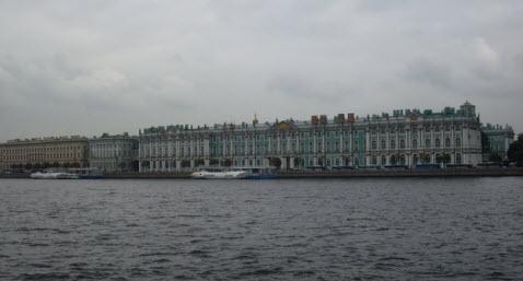 Зимний Дворец, Петербург