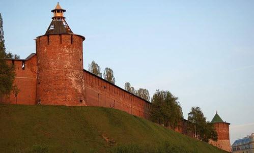 Нижегородский кремль, как доехать до Нижнего Новгорода