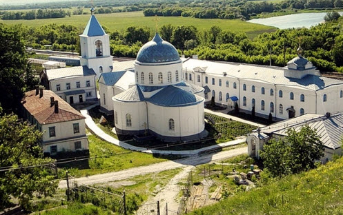 Свято-Успенский Дивногорский монастырь, трасса М4