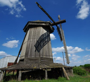 Старая мельница, Бариновка, дорога Р224