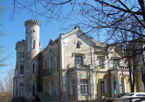 Стрельна, дворец князей Львовых
