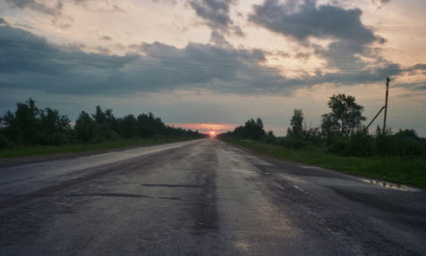 Трасса А116, как доехать до Новгорода