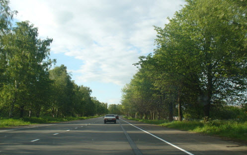 Трасса М20, как доехать до Петербурга