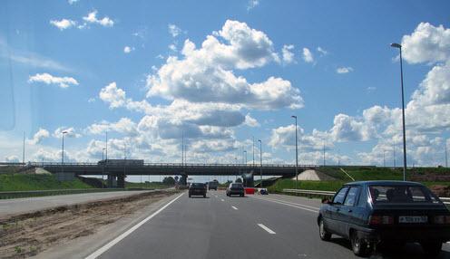 Трасса Р158, как доехать до Нижнего Новгорода