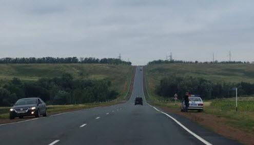 Трасса Р224, дпс в Оренбургской области