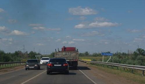 Трасса Р224, как доехать до Самары