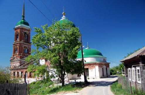 Церковь Ильи Пророка, Касимов, трасса Р125