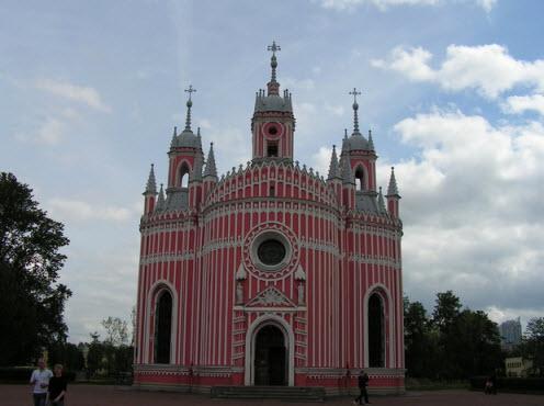 Чесменская церковь, Петербург