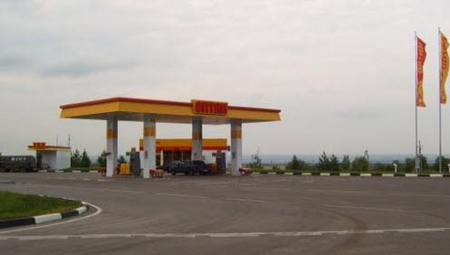 АЗС ОЛОР, возле Саранска