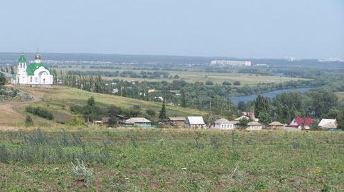 Вид с трассы Р194, Гремячье