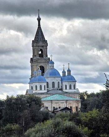 Воскресенский собор, Кашин, трасса Р86
