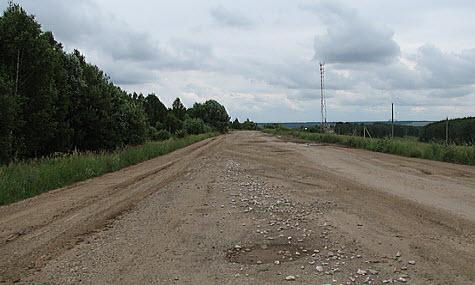 Дорога Р115 Тульская область