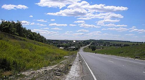 Дорога в Чебоксары