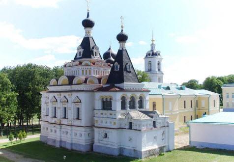Елизаветинская церковь, достопримечательности трассы А104