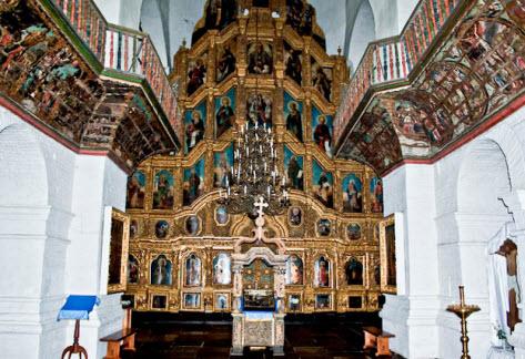 Иконостас Воскресенского собора, достопримечательности трассы Дон