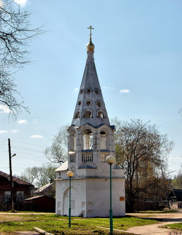 Колокольня, Бежецк, трасса Р85