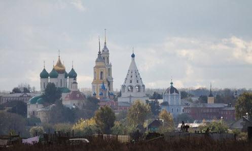 Коломна кремль, трасса Р115