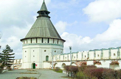 башня красные ворота, астраханский кремль, трасса М6