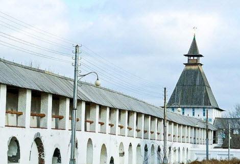 Крымская башня, достопримечательности трассы М6