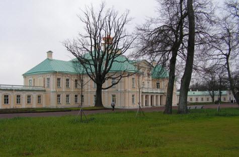 Ораниенбаум, Большой Меньшиковский дворец