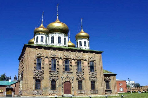 Собор Успения пресвятой Богородицы в Тульском кремле