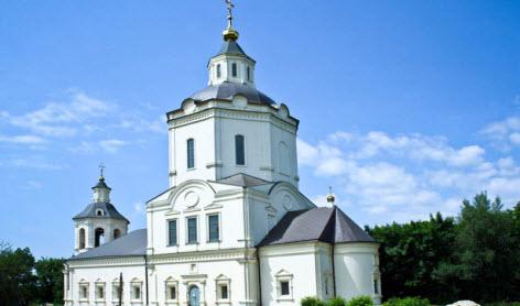 Старочеркасская Церковь Спаса Преображения, трасса М4