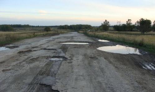 Трасса Р115 в тульской области