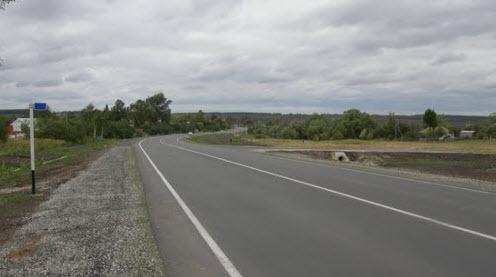Трасса Р141, дорога Р141, возле Сумароково