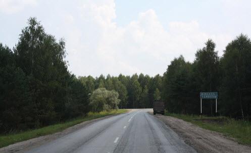 Трасса Р209, Пенза Тамбов