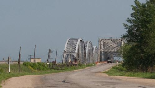 Трасса Р86, мост через Волгу, Калязин - Кашин
