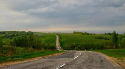 Трасса Р92, отрезок Белев - Чекалино