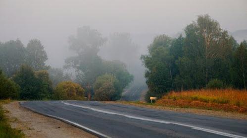 Трасса Р94, возле поселка Нижнее Алопово