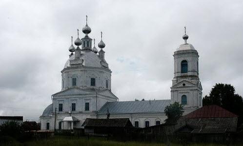 Храм, село Сицкое, трасса Р81