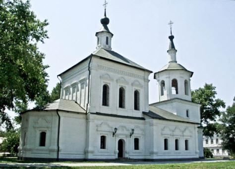 Церковь Петра и Павла, достопримечательности трассы Дон