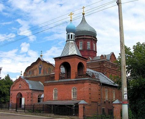 Церковь Покрова Пресвятой Богородицы, трасса М2,Тула