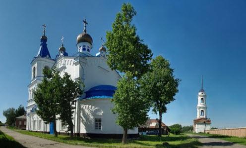 Церковь Рождества Пресвятой Богородицы, Белев, трасса Р92